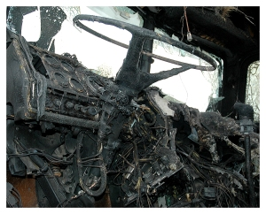 26G-FIR_06G06C0376-05_Burned Semi Cab